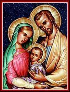 the holy family icon was written by brother claude lane osb of mt